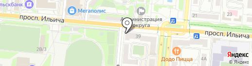 Пироговая на карте Первоуральска