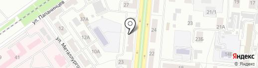 Восток-Сервис Екатеринбург на карте Первоуральска
