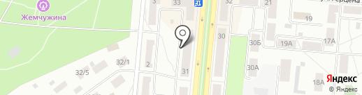 Главное бюро медико-социальной экспертизы по Свердловской области на карте Первоуральска