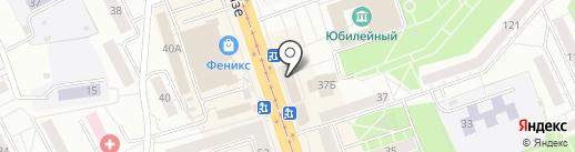 Кондитерский магазин на карте Нижнего Тагила