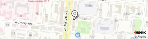 Фотон на карте Первоуральска