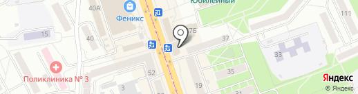 Магазин кондитерских изделий на карте Нижнего Тагила