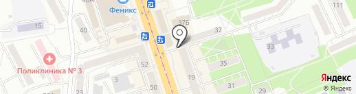 Ишимский на карте Нижнего Тагила