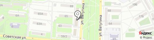 Первоуральский городской суд на карте Первоуральска