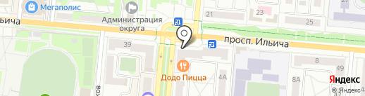 Связной на карте Первоуральска