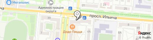 Ниагара на карте Первоуральска