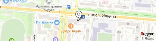 Фотолюбитель на карте Первоуральска