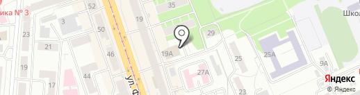 Оценочная компания на карте Нижнего Тагила