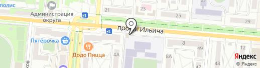 Телефон.ру, ЗАО на карте Первоуральска