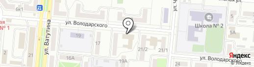 Отдел Военного комиссариата Свердловской области по г. Первоуральску и Шалинскому району на карте Первоуральска