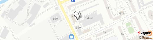 Центр авторазбора на карте Нижнего Тагила