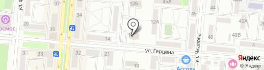 Город на карте Первоуральска