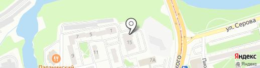 ВетХаус на карте Нижнего Тагила