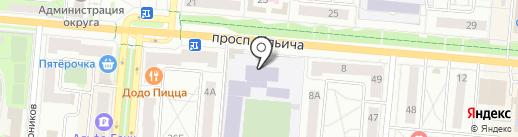 Средняя общеобразовательная школа №32 на карте Первоуральска