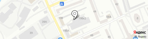 Е1 на карте Нижнего Тагила