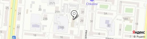 Отдел Управления ФСБ РФ по Свердловской области в г. Первоуральске на карте Первоуральска