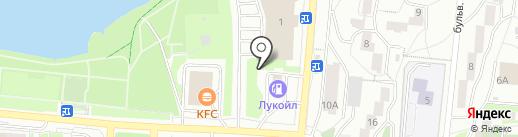 Шиномонтажная мастерская на карте Первоуральска