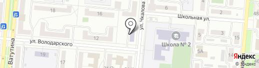 Детская школа искусств на карте Первоуральска