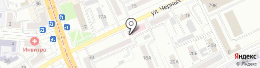 Детская городская поликлиника №3 на карте Нижнего Тагила