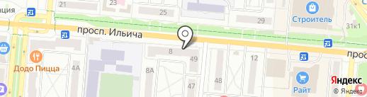 МегаФон на карте Первоуральска