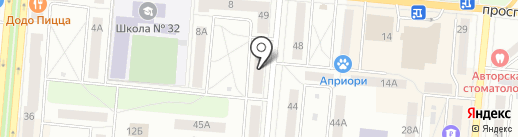 МИКС на карте Первоуральска