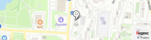 Всероссийское добровольное пожарное общество на карте Первоуральска