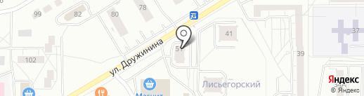 МастерКлюч на карте Нижнего Тагила