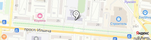 Первоуральский детский дом №1 на карте Первоуральска