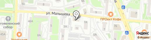 Сушкоф на карте Первоуральска