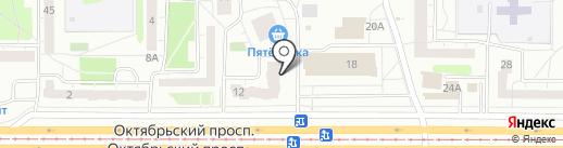 КОМФОРТ+ на карте Нижнего Тагила