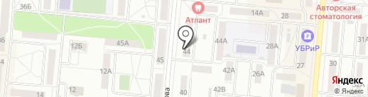 ТАРИ на карте Первоуральска