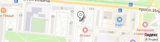 Аква Вива на карте Первоуральска