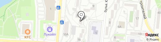 Торговый дом Уран на карте Первоуральска