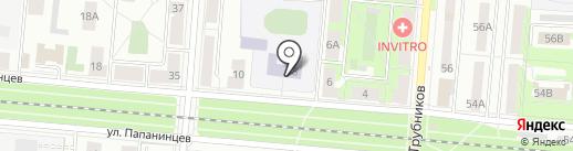 Специальная (коррекционная) общеобразовательная школа на карте Первоуральска