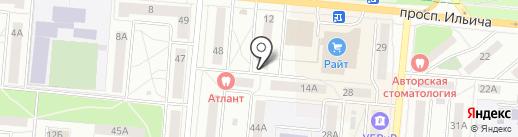 МегаЧел на карте Первоуральска