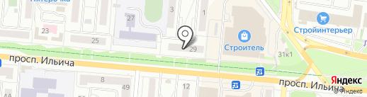 Интер-Клуб на карте Первоуральска
