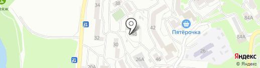 Мои документы на карте Первоуральска