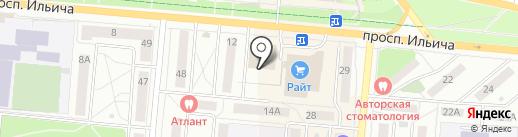 Личный дом на карте Первоуральска