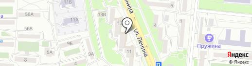 Капель на карте Первоуральска