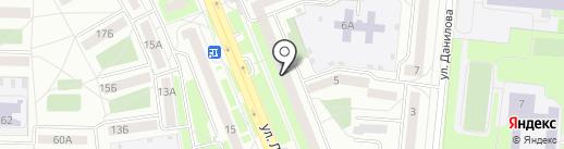 Окна-Проф БЭСТ на карте Первоуральска