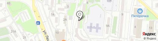 Швейная мастерская на карте Первоуральска