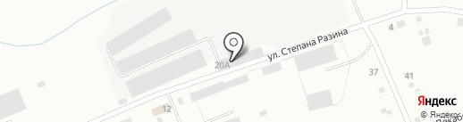 Арс на карте Ревды