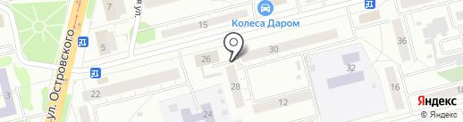 Магазин антенного оборудования на карте Нижнего Тагила
