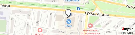 Магазин игрушек на карте Первоуральска
