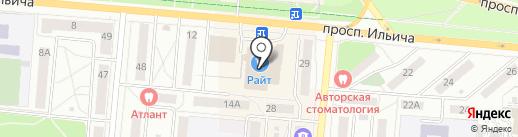 ELEGANT на карте Первоуральска