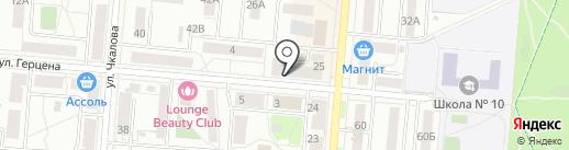Любимый магазин на карте Первоуральска