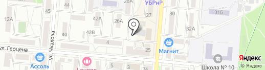 Moi-Car на карте Первоуральска