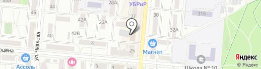 Студия делового костюма на карте Первоуральска