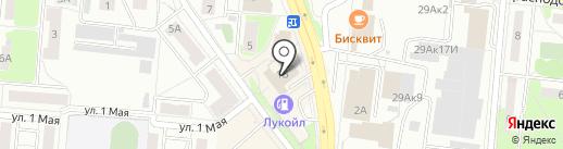 КУШВИН на карте Первоуральска