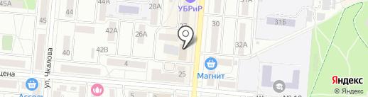 Профклининг Сервис на карте Первоуральска